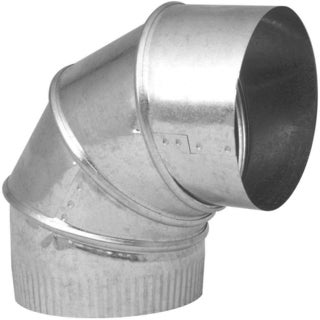 """Imperial Manufacturing Group GV1330-C 8"""" 90° Galvanized Adjustable Elbow"""