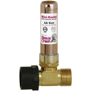 Sioux Chief 660-TK Female X Male Mini Rester Water Hammer Arrester Tee