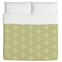 Rose Green Duvet Cover