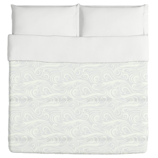 Brisk Waves Light Duvet Cover