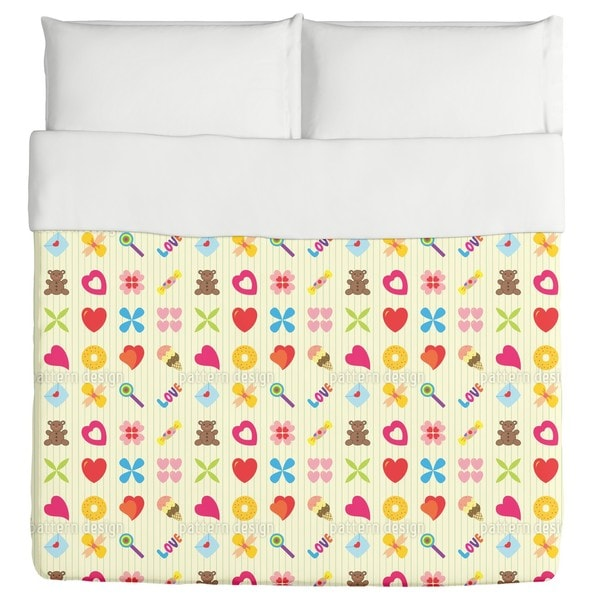 For You Only Duvet Cover