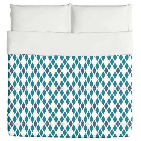 Ogee Netting Wire Duvet Cover