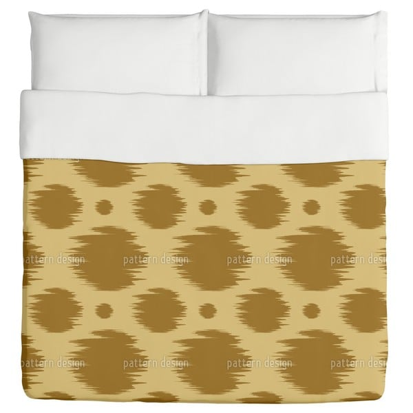 Dots in Fast Motion Duvet Cover