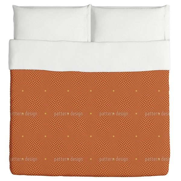 Op Art To the Square Duvet Cover