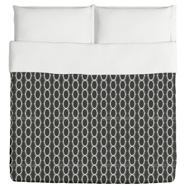 Chained Ovals Duvet Cover