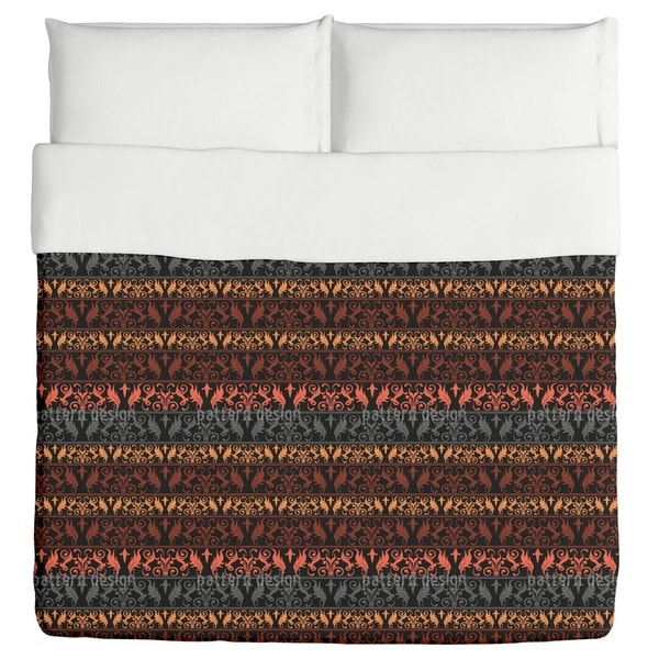 Encora Dark Duvet Cover