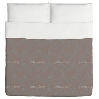 Leaf Lines Duvet Cover