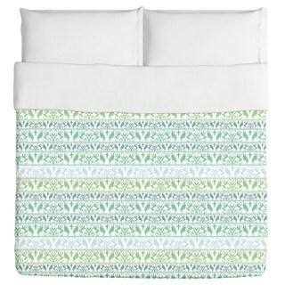 Encora Green Duvet Cover