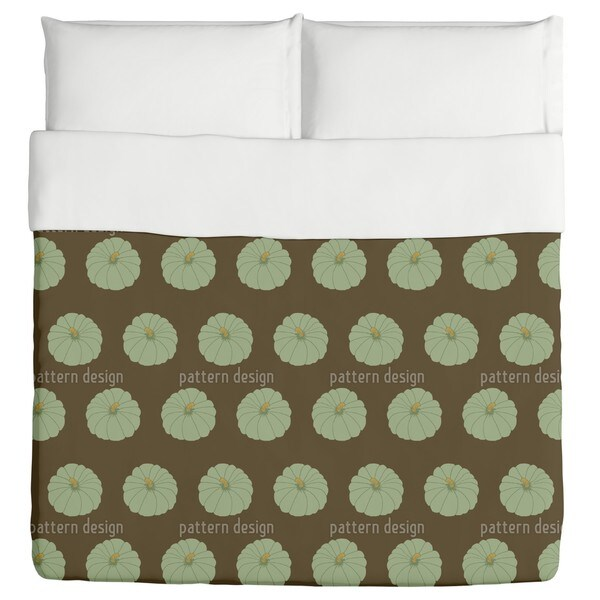 Decorative Gourd Brown Duvet Cover