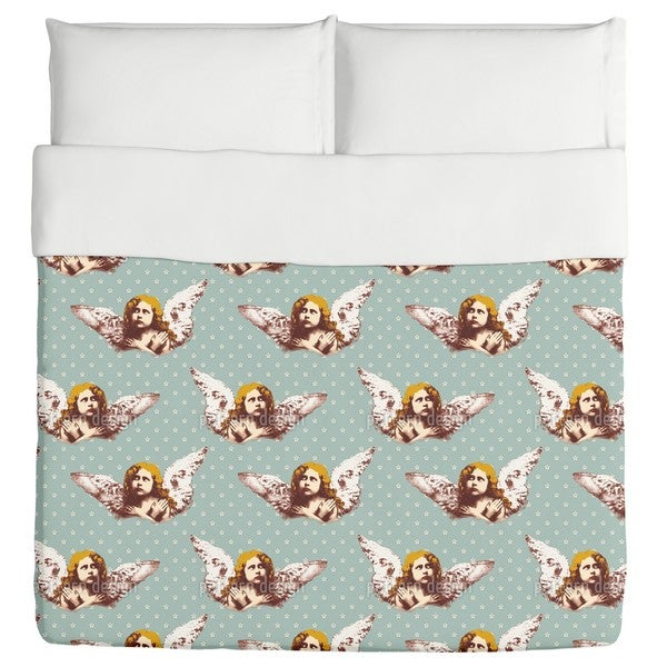 My Guardian Angel Duvet Cover
