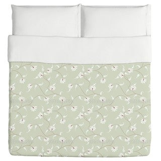 Flora Zack Water Lily Duvet Cover