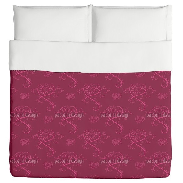 Love Actually Red Duvet Cover