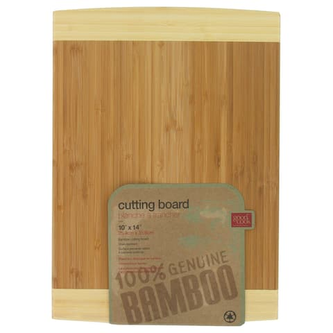 "Good Cook 10102 10"" X 14-5/8"" Bamboo Cutting Board"