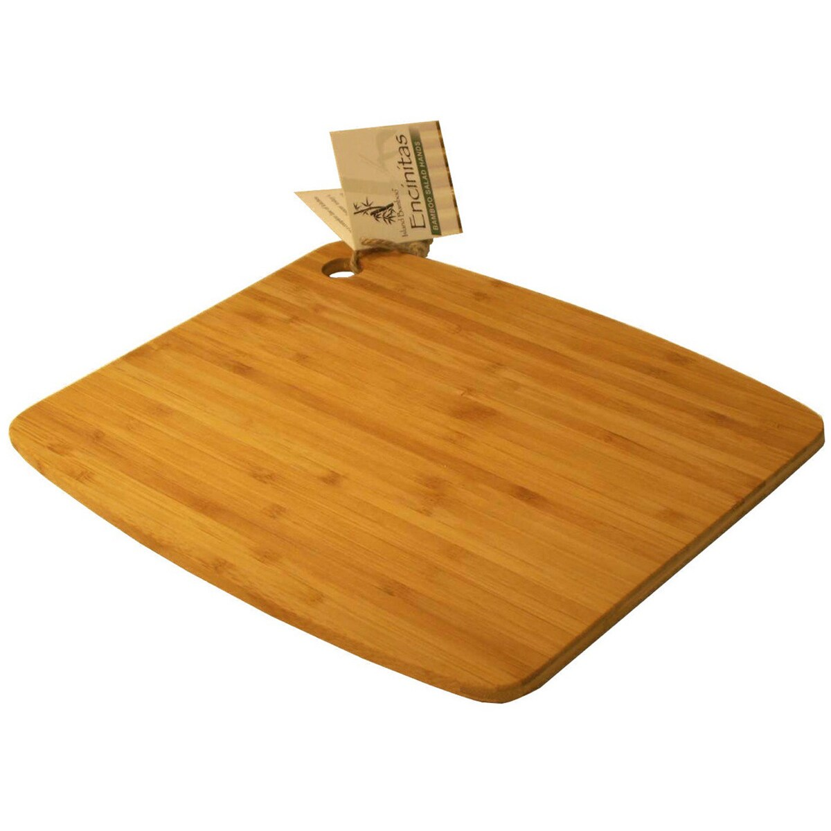 Island Bamboo Ca18mg 18 X 12 Large Bamboo Cutting Board With Handle Overstock 12537743