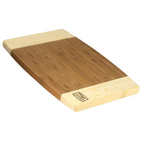 "Chicago Cutlery 1074564 8"" X 12"" X 3/4"" Chicago Cutlery Woodworks Bamboo Board"