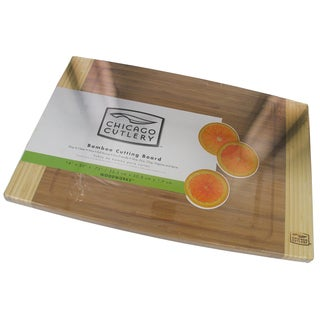 "Chicago Cutlery 1079826 14"" X 20"" Bamboo Cutting Board"
