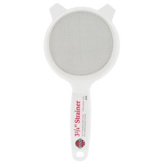 """Norpro 2133 3-1/4"""" Stainless Steel Strainer With Plastic Handle"""