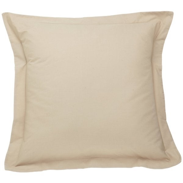Brielle Droplets Beige Polyester Euro Sham