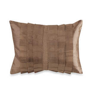 Brielle Droplets Oblong Pleated Down and Feather-filled Decorative Pillow