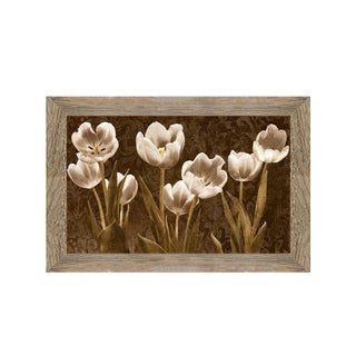 Ives McColl-Baroque Tulips Framed Art