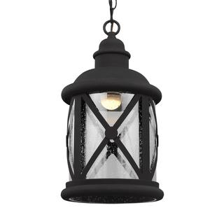 Sea Gull Lakeview LED Light Black Pendant