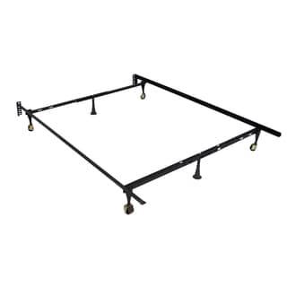 Black Metal Full Bed Frame
