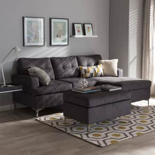Baxton Studio Haemon Modern and Contemporary Grey Fabric Upholstered 3-Piece Sectional Sofa with Ottoman Set|https://ak1.ostkcdn.com/images/products/12539175/P19342397.jpg?impolicy=medium