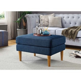 Convenience Concepts Designs4Comfort Marlow Mid-Century Ottoman