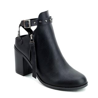Olivia Miller 'Beverly' Chunky Heel Booties