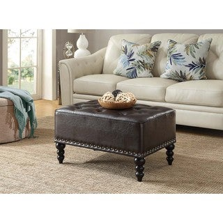 Convenience Concepts Designs4Comfort Portman Tufted Ottoman
