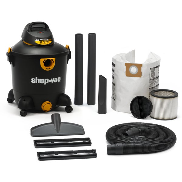Shop Shop Vac 598 32 00 12 Gallon 5 0 Peak Hp Wet Amp Dry Vacuum Free Shipping Today