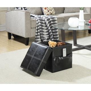 Convenience Concepts Designs4Comfort Single Collapsible Ottoman