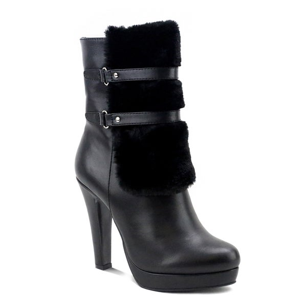 best seller cheap price Olivia Miller Nevins Women's ... High Heel Ankle Boots sale best prices discount best store to get nbMD4ZL6Uh