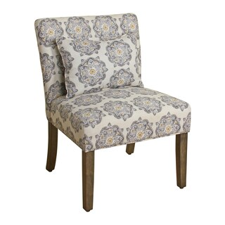 HomePop Parker Accent Chair with Pillow