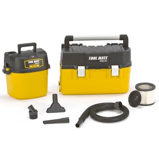 Shop Vac 388-02-00 2.5 Gallon 2.5 HP Wet & Dry Vac With Removable Toolbox