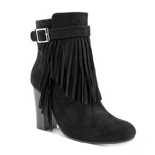 Olivia Miller Women's Wakefield Fringe Ankle Booties|https://ak1.ostkcdn.com/images/products/12539298/P19342435.jpg?impolicy=medium