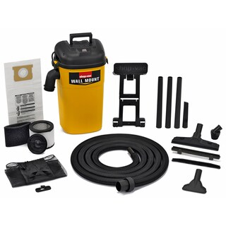 Shop Vac 394-23-00 5 Gallon 4 HP Wet & Dry Wall Mount Vac