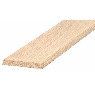 "M-D 11924 36"" Solid Oak Threshold"