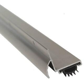 """M-D 25706 36"""" Satin Nickel L-Shaped Door Bottom With Drip Cap"""