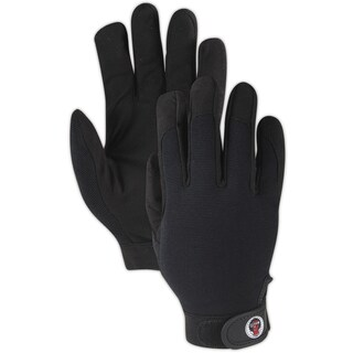 Magid Glove AG7000TL RoadMaster Work Glove W/Spandex Back & Leather Palm,