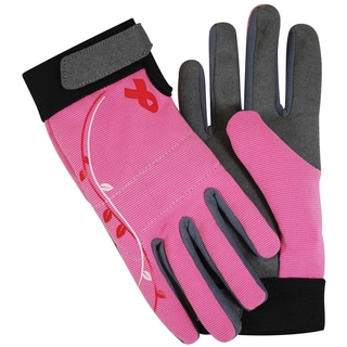 Magid Glove BC251VTM Breast Cancer Foundation Spandex Gardening Gloves