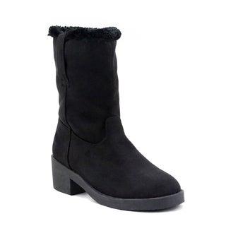 Olivia Miller 'Rego' Faux Fur-lined Boots