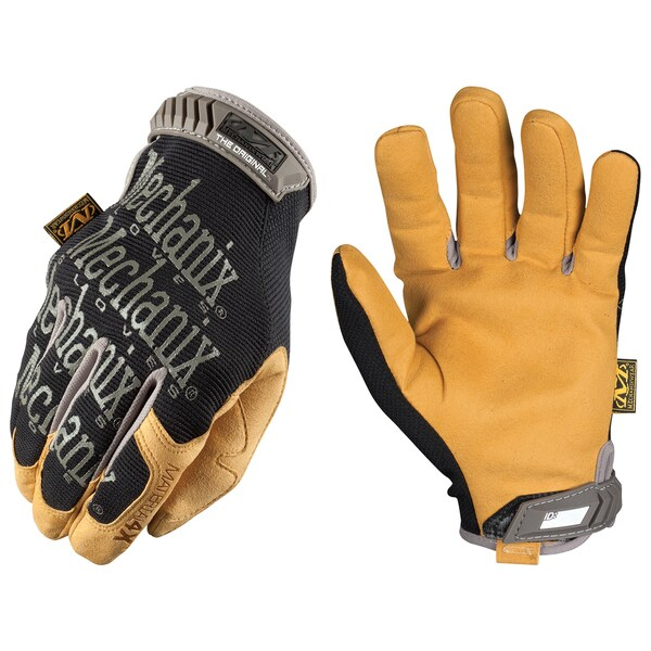Mechanix Wear MG4X-75-010 Large Brown and Black Material4X Work Gloves
