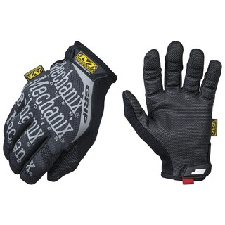 Mechanix Wear MGG-05-009 Black & Gray The Original Grip Glove With Extra-Grip