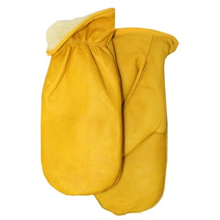 Midwest Glove 9200PL-L Piled Lined Leather Chopper Mitt