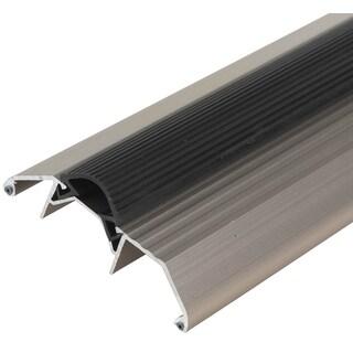 "M-D 49006 36"" Satin Nickel Aluminum Vinyl Seal High Boy Thresholds"
