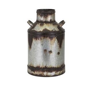Crocket Small Metal Vase