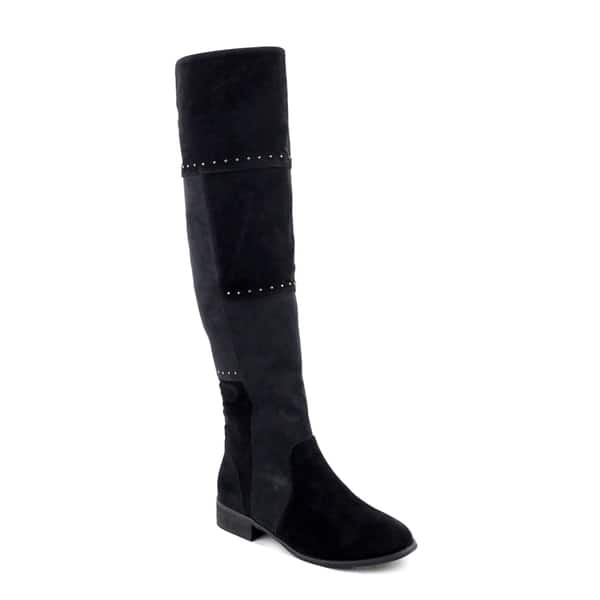 286442dd28 Shop Olivia Miller Women's Bedford Multi-studded Over-the-knee Boots ...