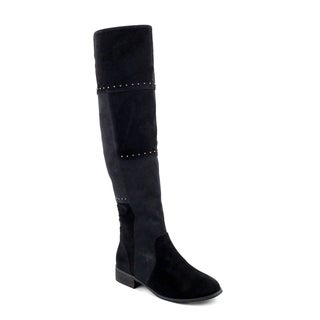 Olivia Miller Women's Bedford Multi-studded Over-the-knee Boots