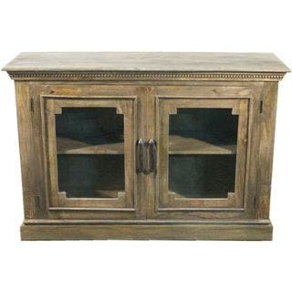 Y-Decor Solid Wood Decorative Sideboard Cabinet with Wide Glass Paneled Doors|https://ak1.ostkcdn.com/images/products/12539966/P19342900.jpg?impolicy=medium